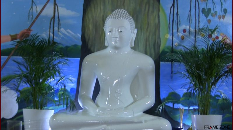 statua buddah tempio napoli