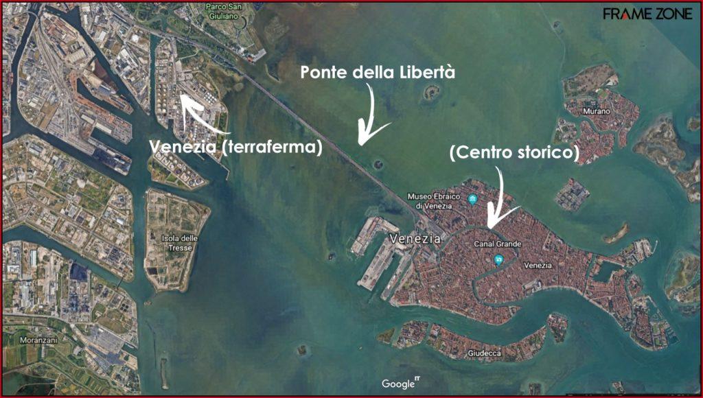 Mappa Cosa vedere a Venezia