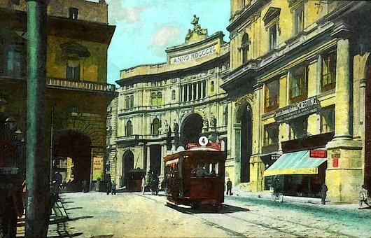 Immagine di Napoli del passato