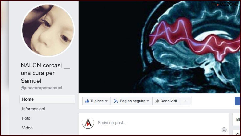 Una cura per Samuel - pagina facebook