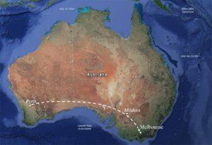 percorso Federica Australia