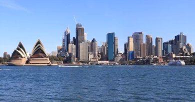 trasferirsi in AUSTRALIA skyline sydney