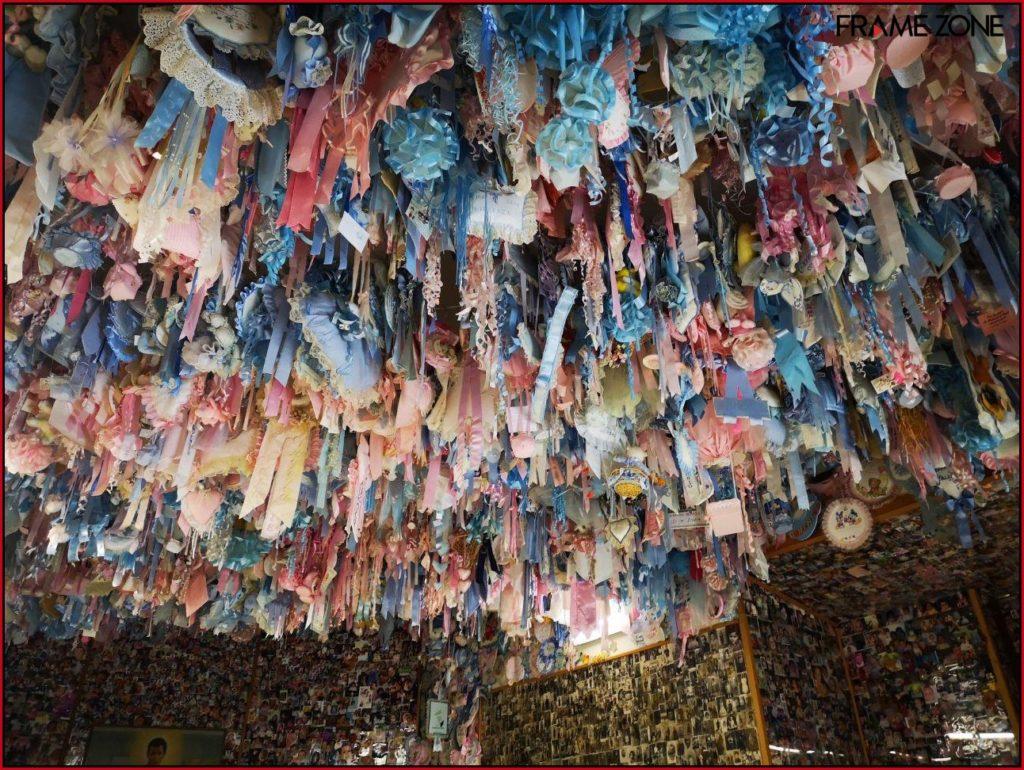 Santuario San Gerardo - stanza dei fiocchi - soffitto
