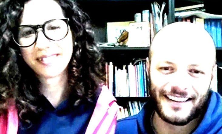 Francesco e Raquel durante il coronavirus